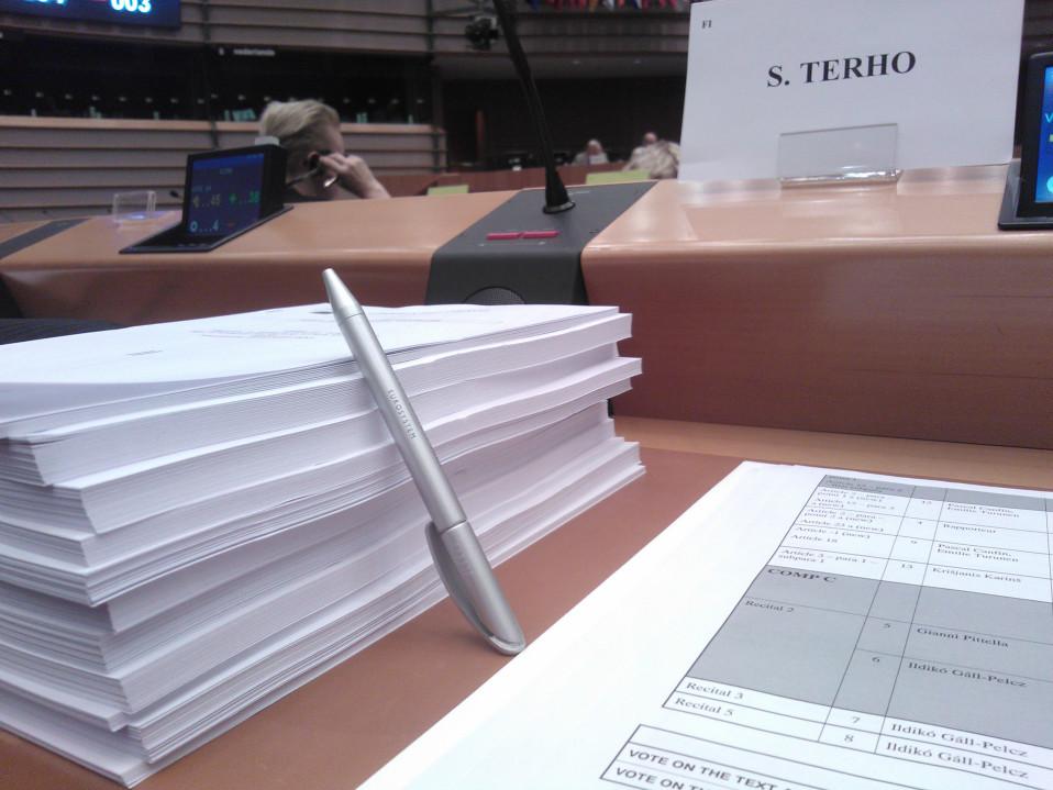Mepin työpöytä.