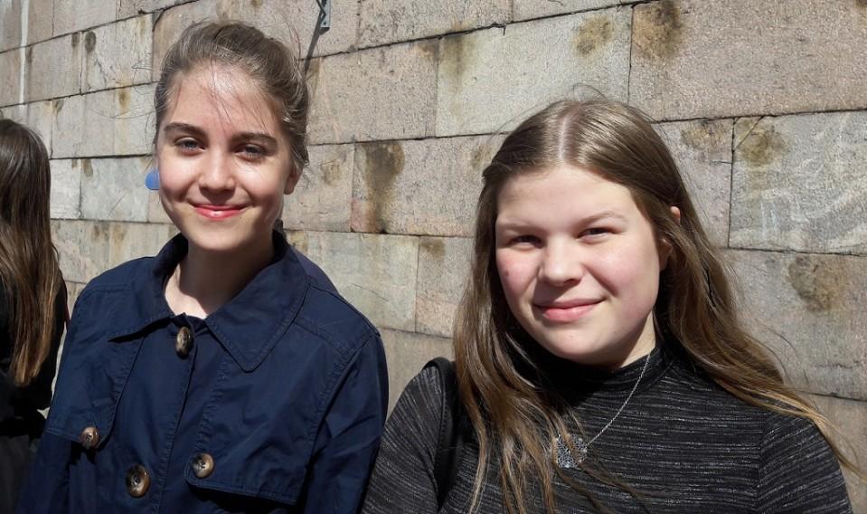 Lotta Kortesalmi ja Sanna Erkkilä