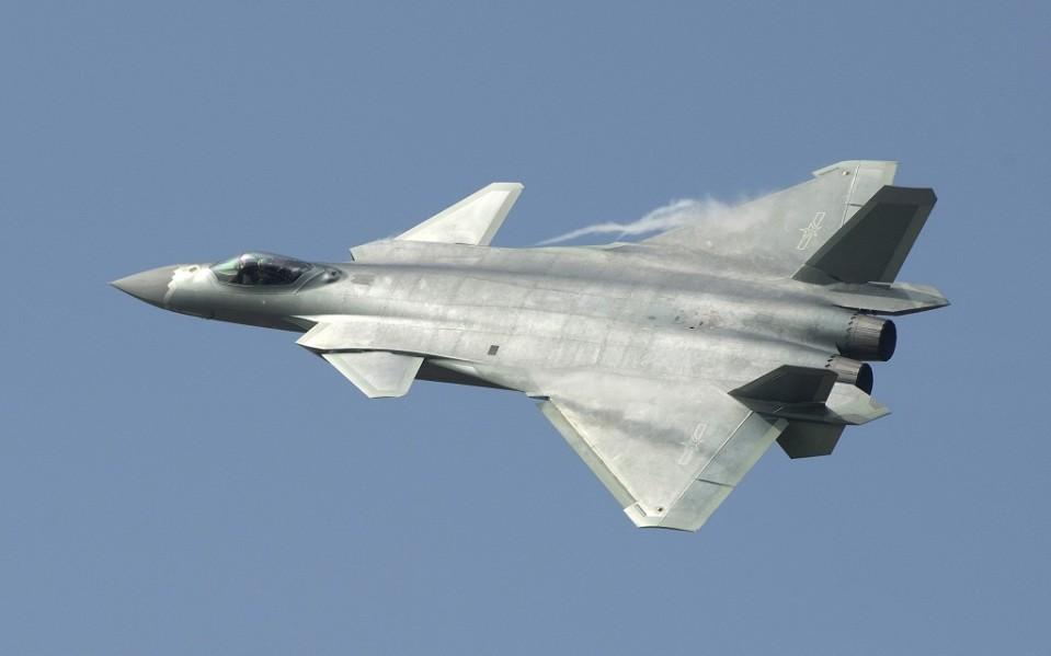 kiinalainen j-20 hävittäjä