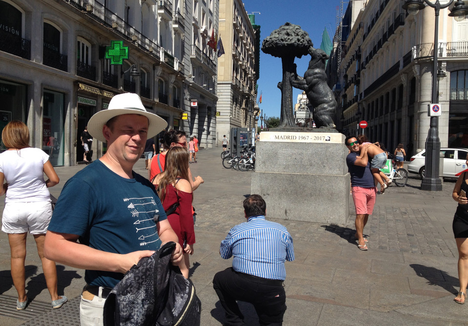 Puolalainen Lukasz on teini-iästä lähtien tuntenut kiinnostusta juuri Espanjaan.