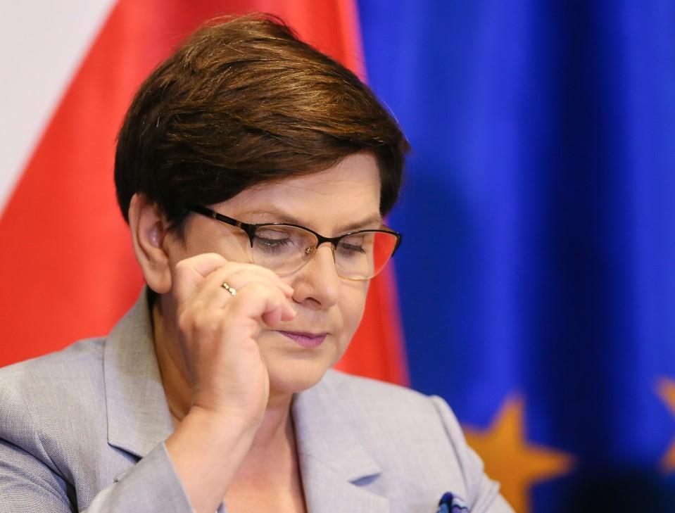 Puolan pääministeri Beata Szydło.