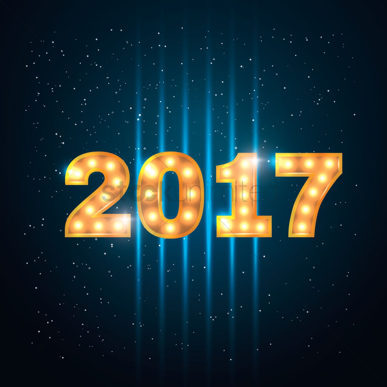 2017 new year greeting Vector Image   1940183   StockUnlimited 2017 new year greeting vector graphic
