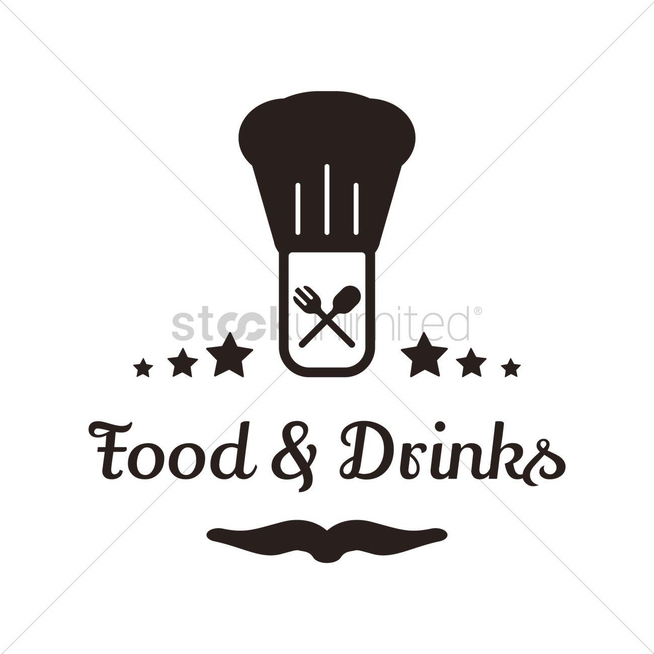 Food And Drinks Menu Design Vector Image