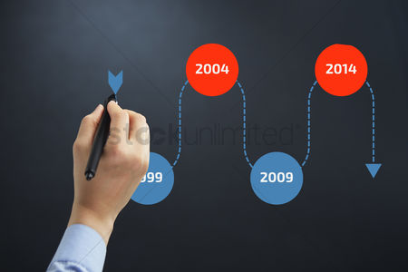 Free Timeline Template Stock Vectors   StockUnlimited 1952203 Timeline template   Hand illustrating timeline chart