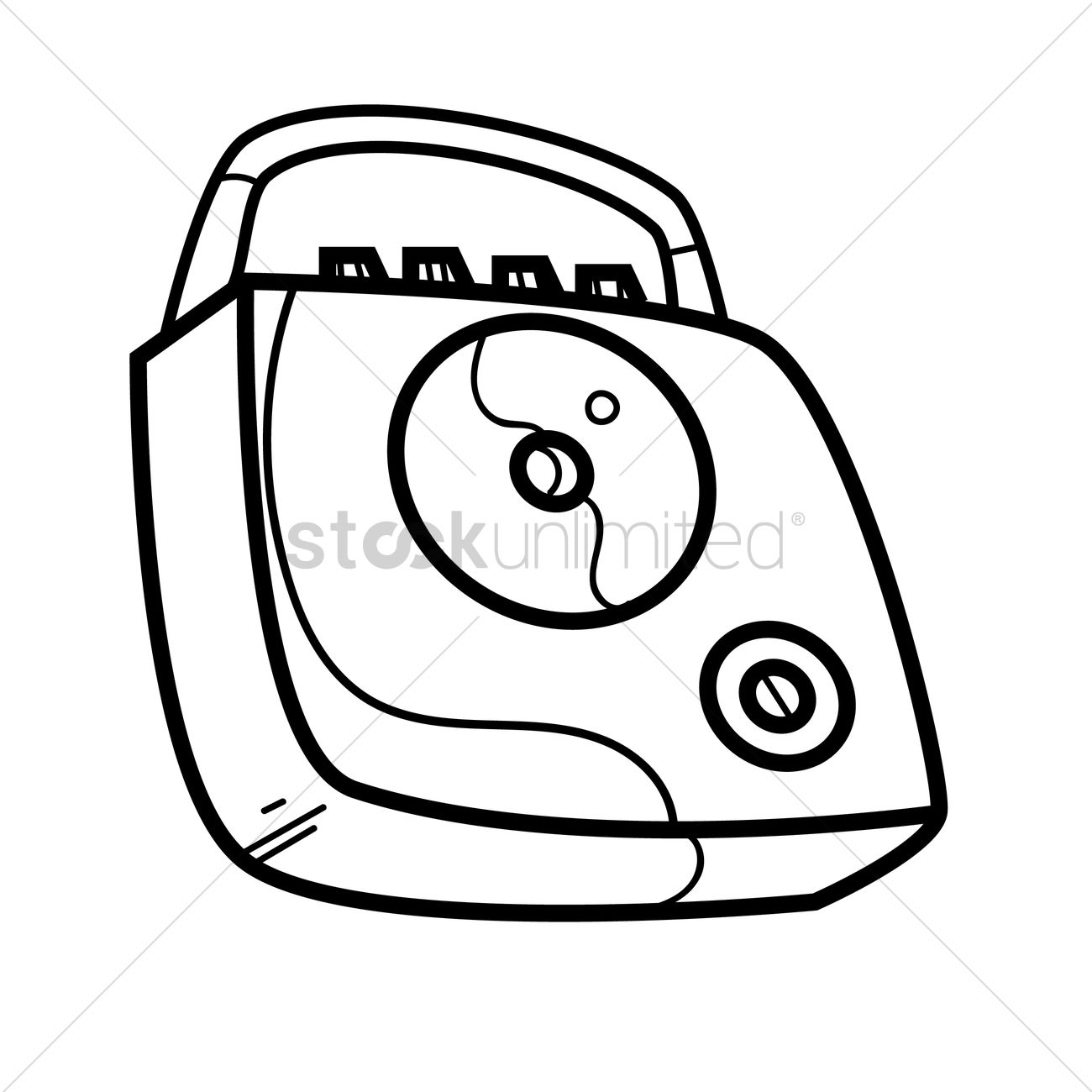 Free Cd Player Vector Image