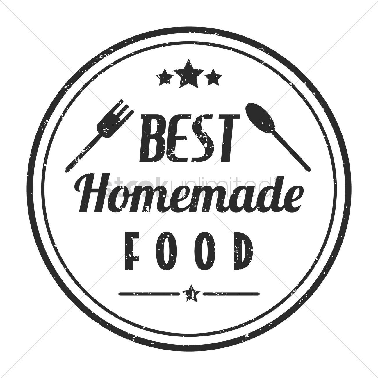 Restaurant Stamp Design Vector Image