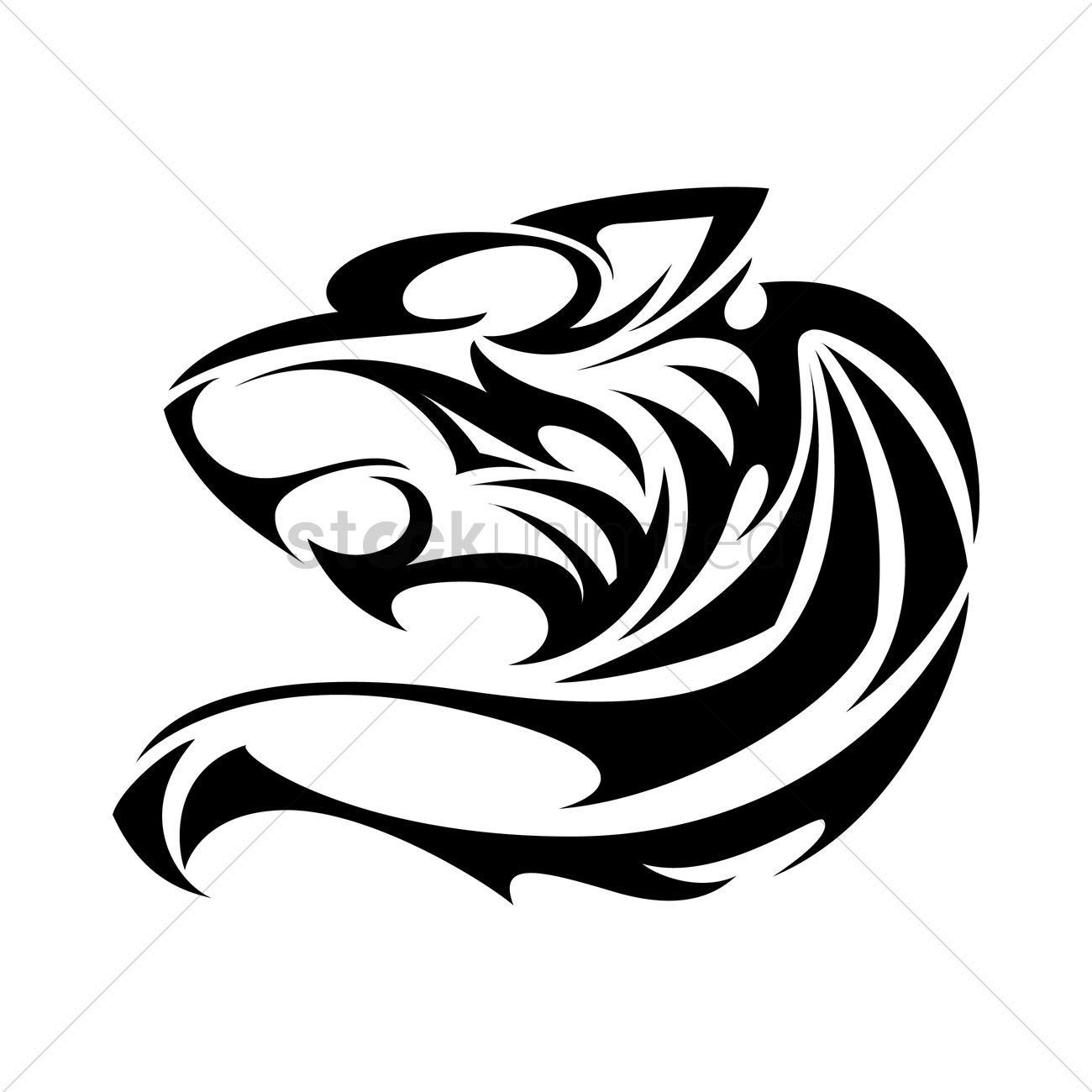 Jaguar Tattoo Vector Image