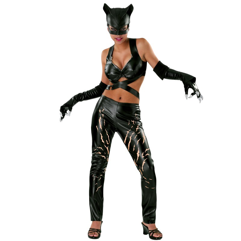 Catwoman Deluxe Adult CostumeCatwoman Deluxe Adult Costume - Medium