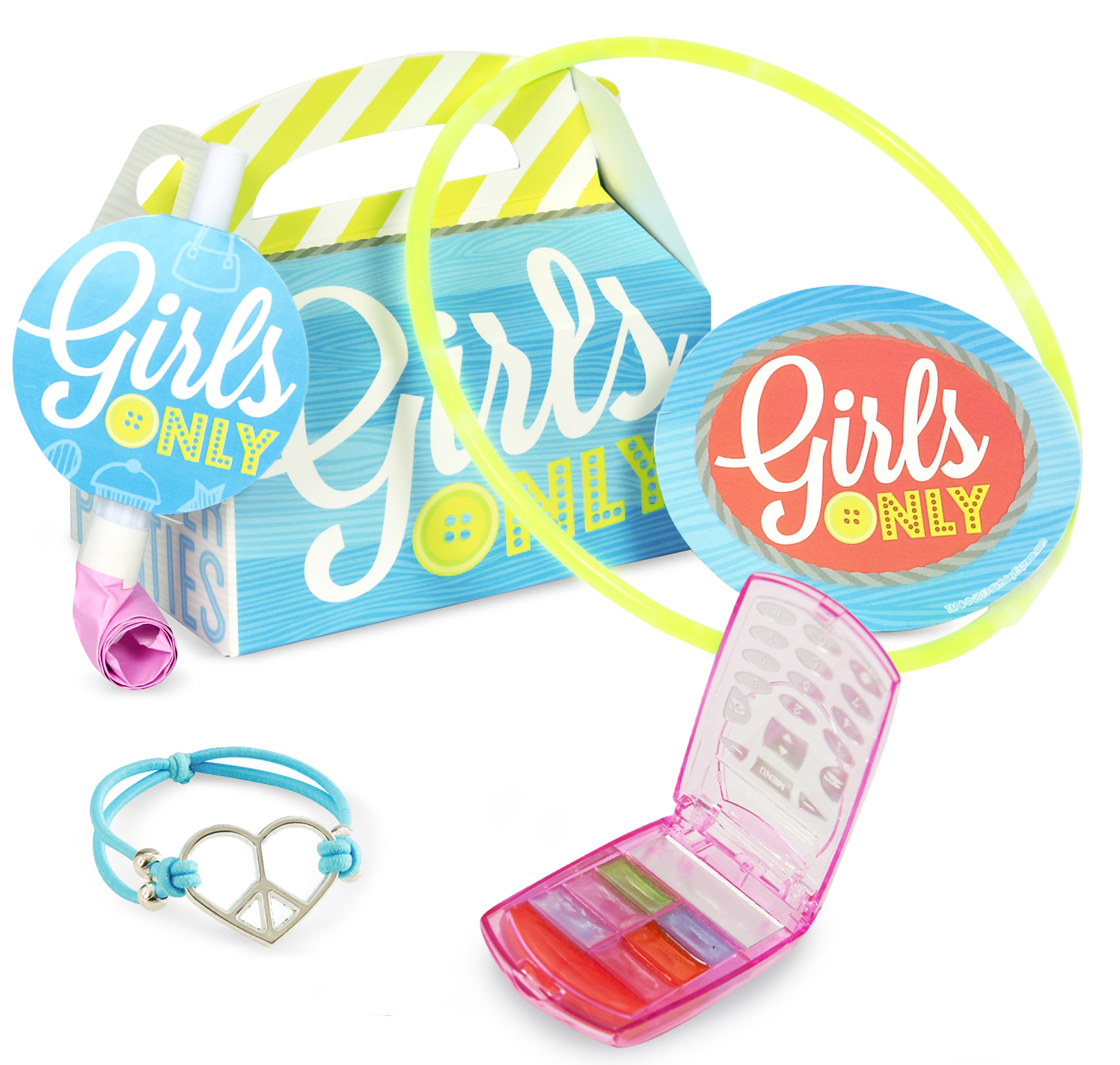 Girls Only Party - Party Favor Box