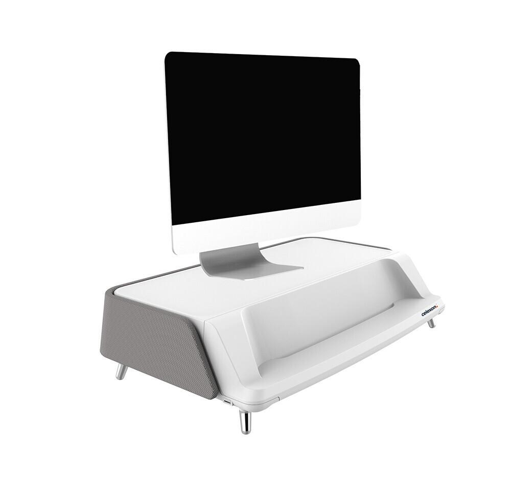 rehausseur pour ecran pc celexon pro me1730 avec systeme de nettoyage uv c gris