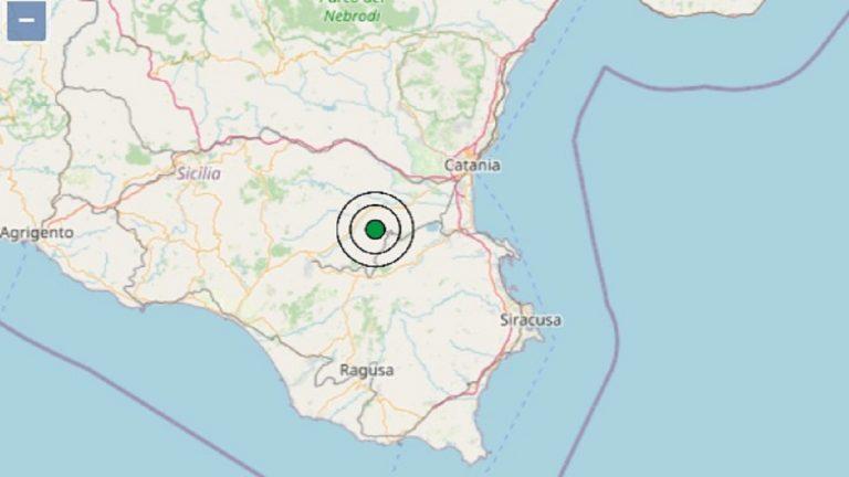 Terremoto oggi in Sicilia, 29 giugno 2021: scossa M. 3.2 in provincia di  Catania – Dati INGV