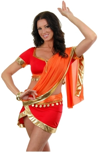 Bollywood Halloween Costume The  sc 1 st  Cartoonview.co & saree halloween costume | Cartoonview.co