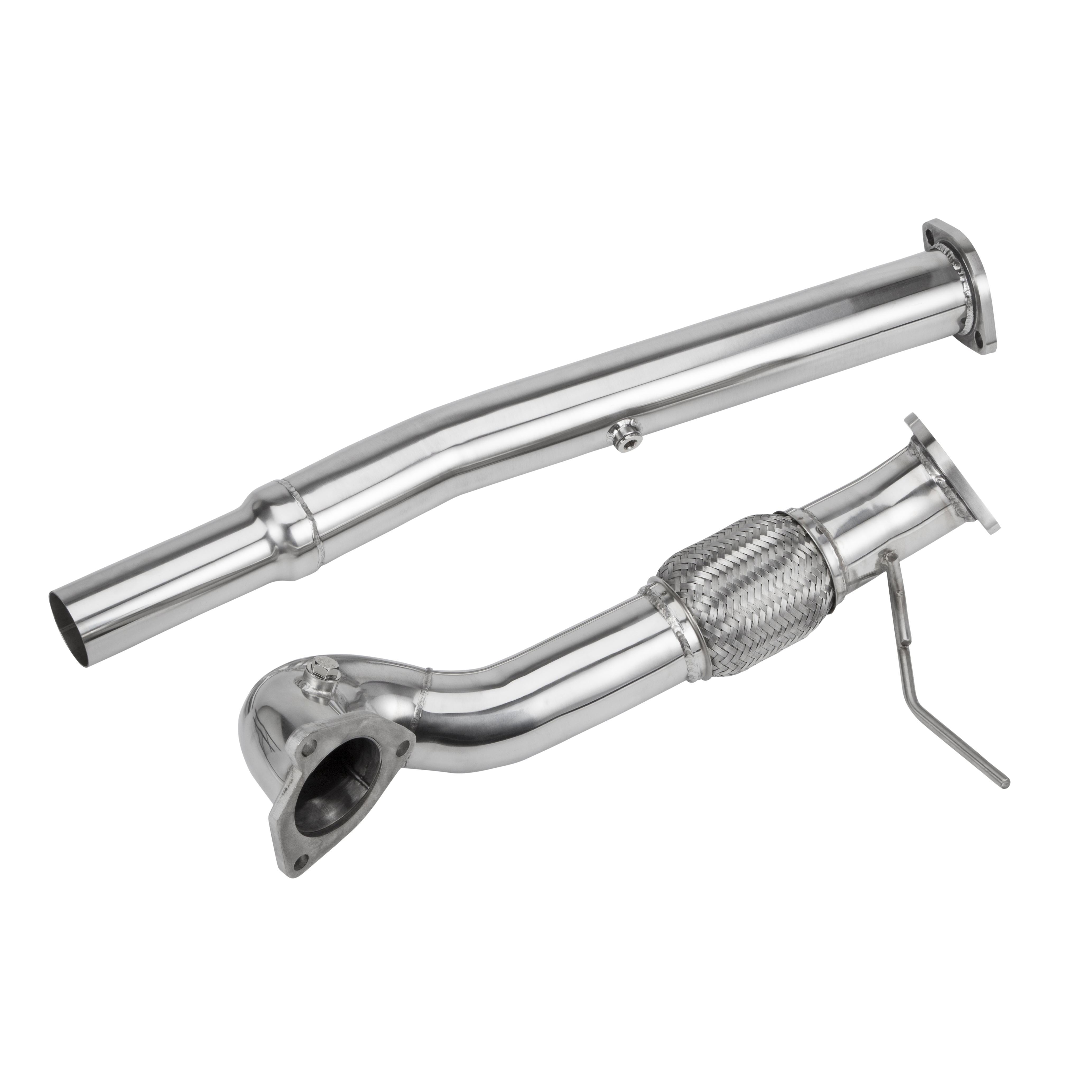 Stainless Steel Exhaust Turbo Decat Downpipe Audi S3 Tt Seat Leon Cupra R 1 8t