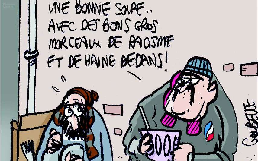 Angoulême: une soupe aux relents d'extrême droite pour Noël