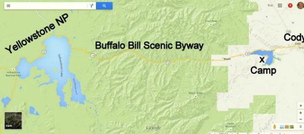Map-cody-Yellowstone