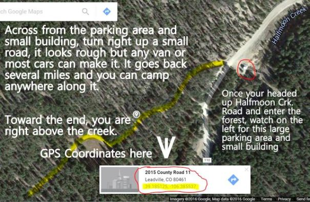 This si a great ca,ping area, if you go far enough back you'll be just above the river with no one around.