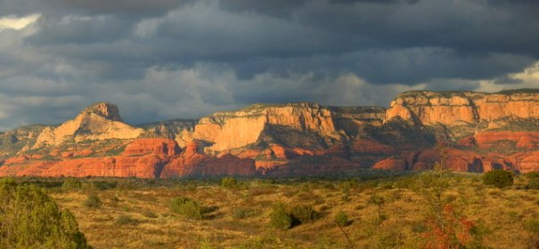 Another view of the Red Rock from near our camp.