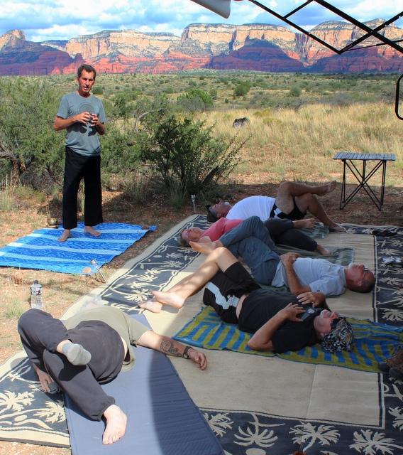 Will leading us in Yin Yoga.