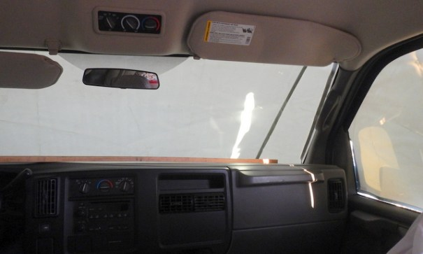 By being on the outside the heat never gets inside the van keeping it much cooler inside. As a huge bonus, it does allow some light in the van unlike the Rfelectix which made it very dark.