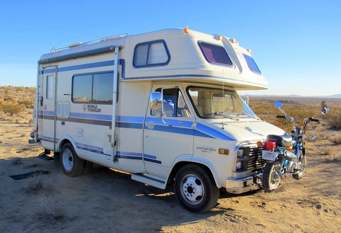 cheap rv living com baby steps buying an older class c rvthis is a mid 80s 18 foot mobile traveler class c it is one