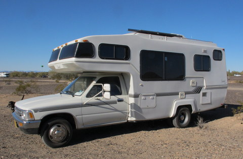 Cheap rv living baby steps buying an older class c rv some people absolutely love the toyota class c i think of them as under fandeluxe Gallery