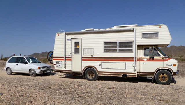 Cheap rv living which vehicle is best for you to live in a class c towing an economy car is a great choice for a lot of people the car and rv only cost 5000 and while the class c only gets 7 mpg fandeluxe Choice Image