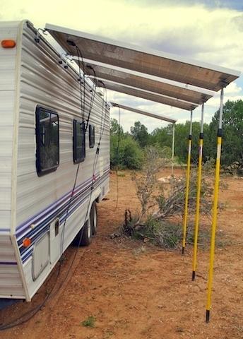 Cheap RV Living.com -Ingenuous Modular Solar Power System