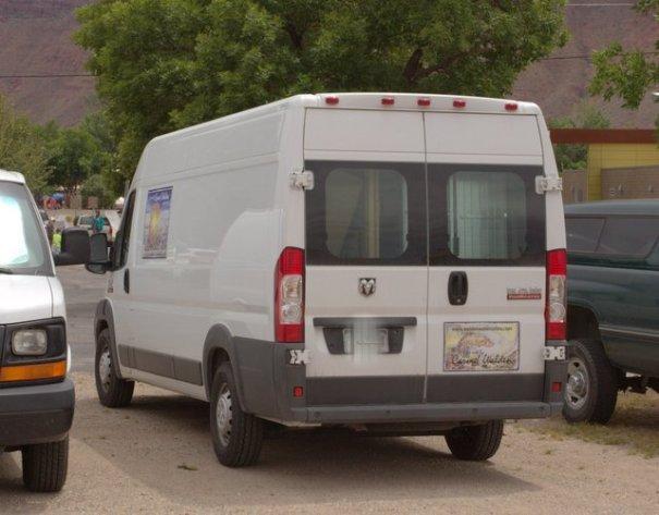 And the new Dodge Van.