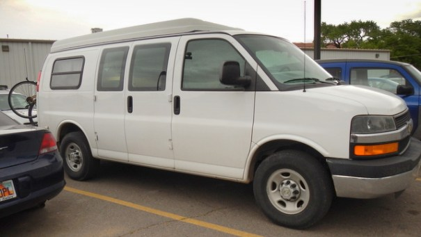 The Ultimate van dwelling rig!