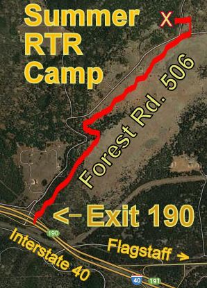 This is the Google Sattelite Map of our camp