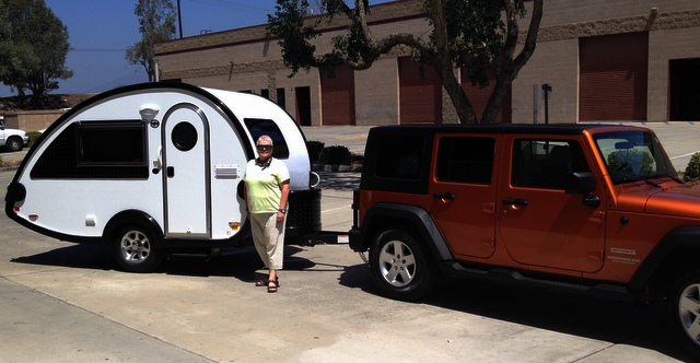 Cheap RV Living com -Retired and Living in a Teardrop Trailer