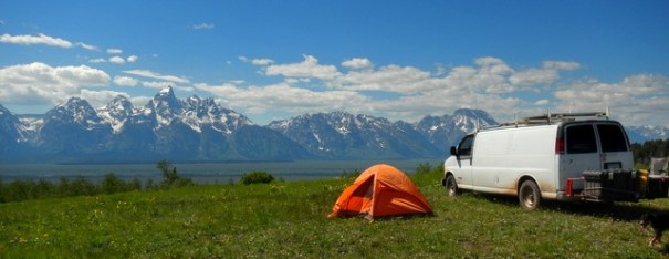 Now that's a campsite!