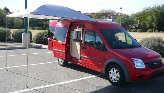 Cheap Rv Living Com Update On The Ford Transit Connect Conversion