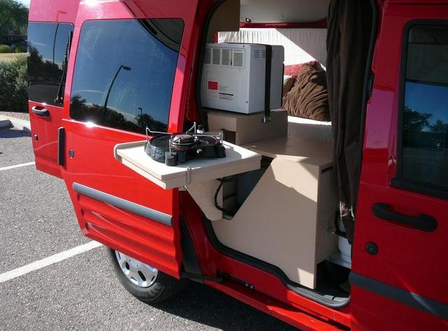 Cheap RV Livingcom Update on the Ford Transit Connect Conversion