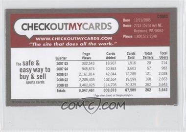 2008 CheckOutMyCards - Courtesy of CheckOutMyCards.com
