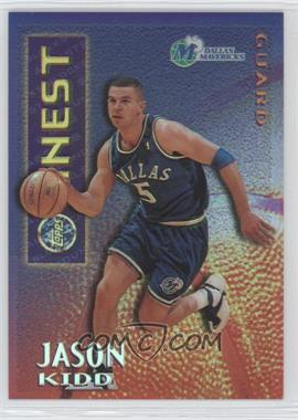1995-96 Finest Mystery Borderless Refractors/Gold #M9 - Jason Kidd - Courtesy of CheckOutMyCards.com