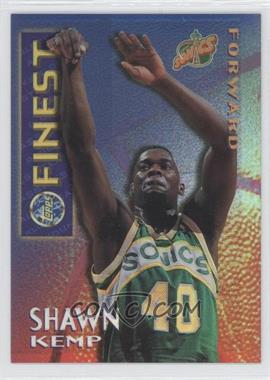 1995-96 Finest Mystery Borderless Refractors/Gold #M4 - Shawn Kemp - Courtesy of CheckOutMyCards.com