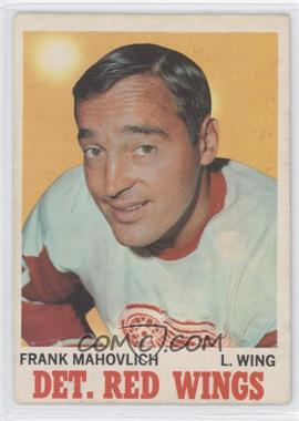 1970-71 O-Pee-Chee #22 - Frank Mahovlich - Courtesy of CheckOutMyCards.com