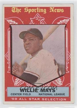 1959 Topps #563 - Willie Mays AS - Courtesy of CheckOutMyCards.com