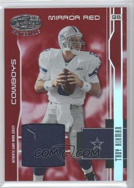 2003 Leaf Certified Materials Mirror Red #146 - Troy Aikman/150 - Courtesy of CheckOutMyCards.com