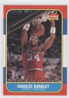 1986-87 Fleer #7 - Charles Barkley RC (Rookie Card) - Courtesy of CheckOutMyCards.com