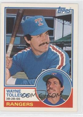 1983 Topps Traded #114T - Wayne Tolleson - Courtesy of CheckOutMyCards.com