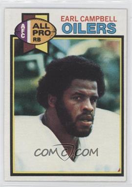 1979 Topps #390 - Earl Campbell RC (Rookie Card) - Courtesy of CheckOutMyCards.com