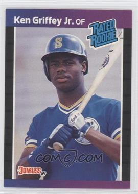 1989 Donruss #33 - Ken Griffey Jr. RC (Rookie Card) - Courtesy of CheckOutMyCards.com