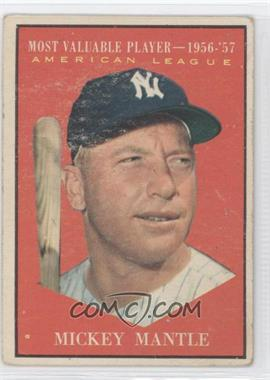 1961 Topps #475 - Mickey Mantle MVP - Courtesy of CheckOutMyCards.com