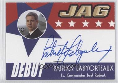2006 JAG Debut Signatures #D11 - Patrick Labyorteaux - Courtesy of CheckOutMyCards.com