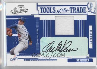 2005 Absolute Memorabilia Tools of the Trade Autograph Jersey #159 - Orel Hershiser/1 - Courtesy of CheckOutMyCards.com