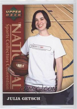 2007 Upper Deck National Sports Collectors Convention #2 - Julia Getsch/1 - Courtesy of CheckOutMyCards.com