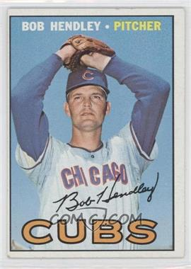 1967 Topps #256 - Bob Hendley - Courtesy of CheckOutMyCards.com