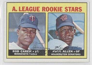 1967 Topps #569 - Rookie Stars Rod Carew RC (Rookie Card) Hank Allen RC (Rookie Card) DP - Courtesy of CheckOutMyCards.com
